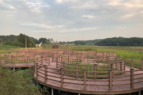 당산저수지 생태공원